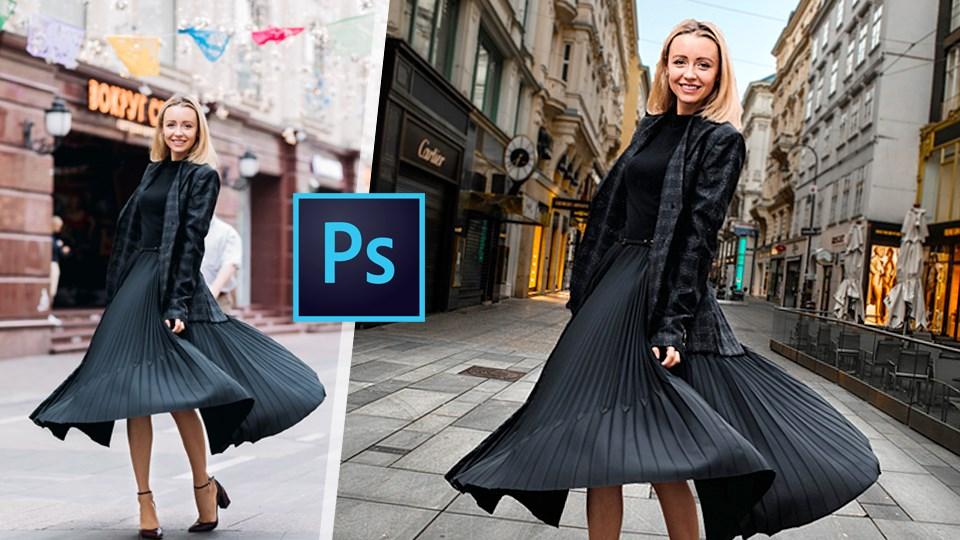Online Photoshop Eğitimi (Arka Plan Değiştirme)