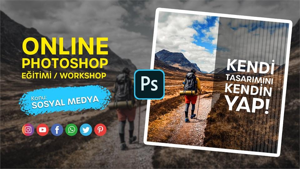 Online Photoshop Eğitimi (Sadece Sosyal Medya İçin)