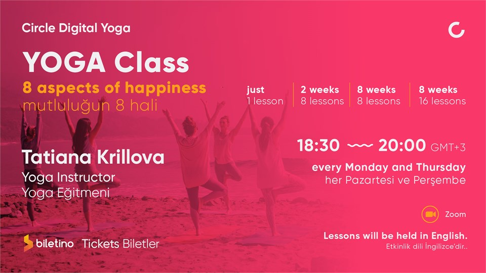 Yoga Class: 8 aspects of happiness
