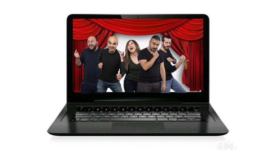 Online Doğaçlama Tiyatro Gösterisi