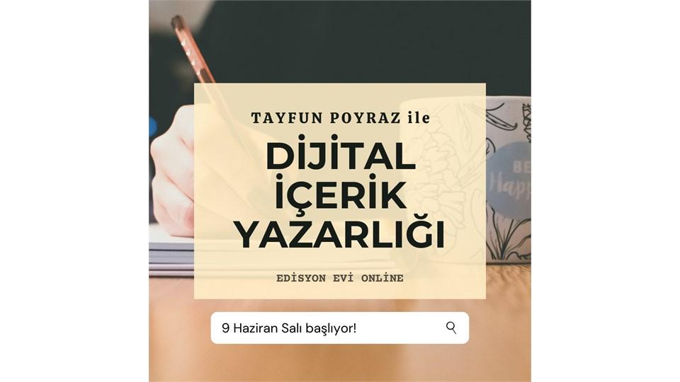 ONLİNE Dijital İçerik Yazarlığı (4 Hafta)