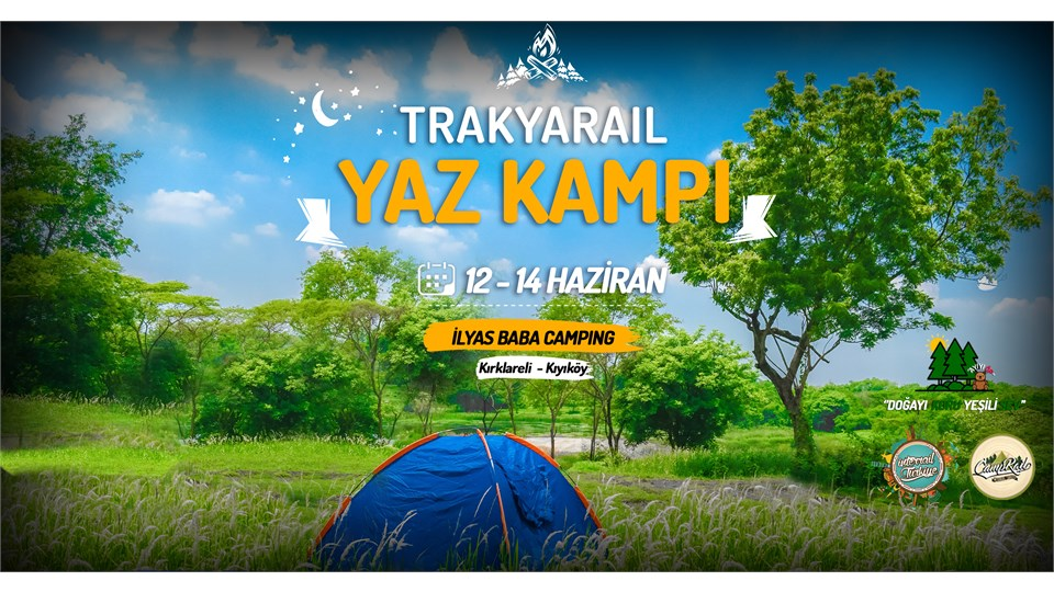 TrakyaRail Yaz Kampı | Interrail Türkiye