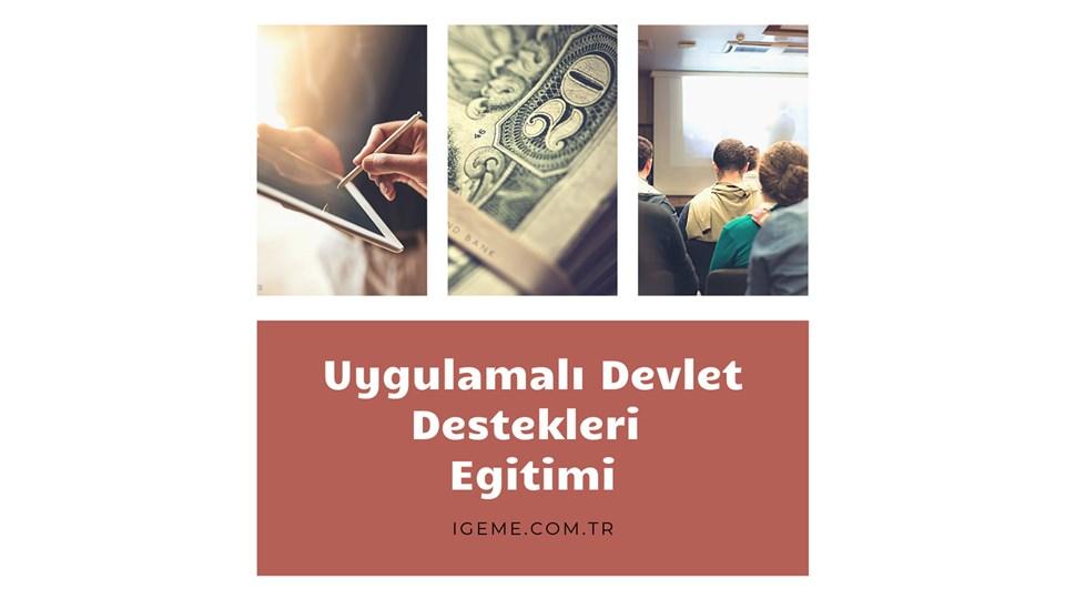Uygulamalı Devlet Destekleri Eğitimi (İSTANBUL)