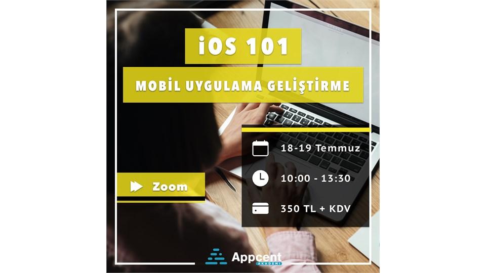 iOS 101-Mobil Uygulama Geliştirme