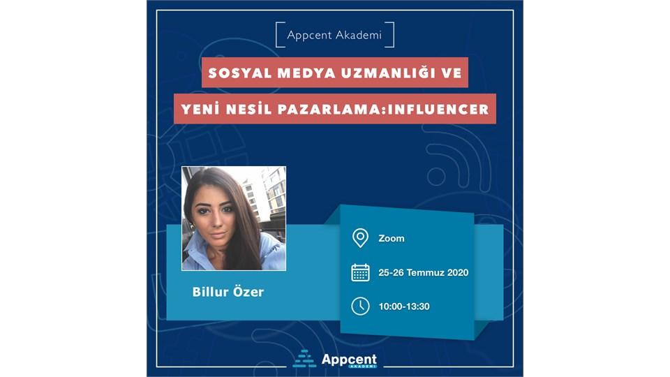 Sosyal Medya Uzmanlığı ve Yeni Nesil Pazarlama: Influencer