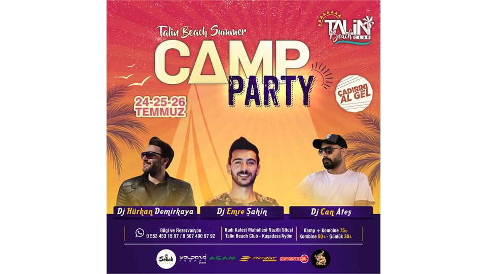 Talin Beach Summer Camp Party