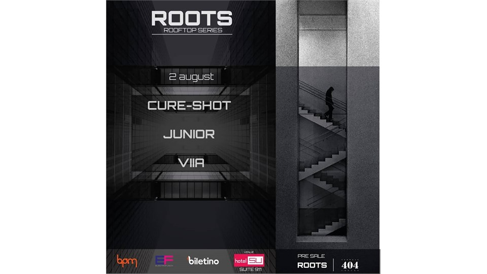 ROOTS ROOFTOP SERIES // CURE-SHOT - JUNIOR - VIIA