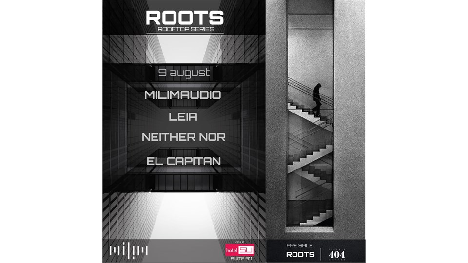 ROOTS ROOFTOP SERIES // MILIMAUDIO