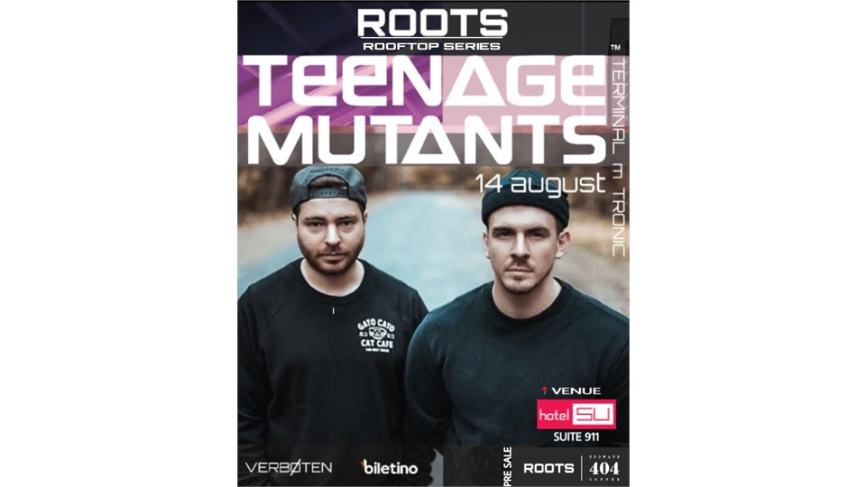 ROOTS ROOFTOP SERIES / TEENAGE MUTANTS