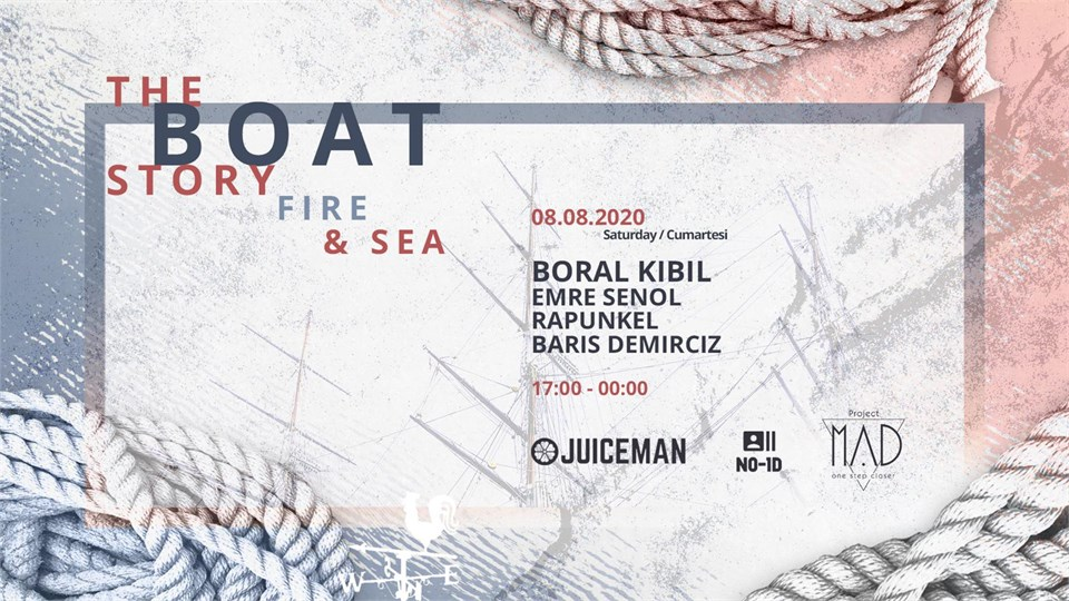 Fire & Sea: The Boat Story III