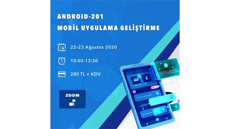 Android 201-Mobil Uygulama Geliştirme
