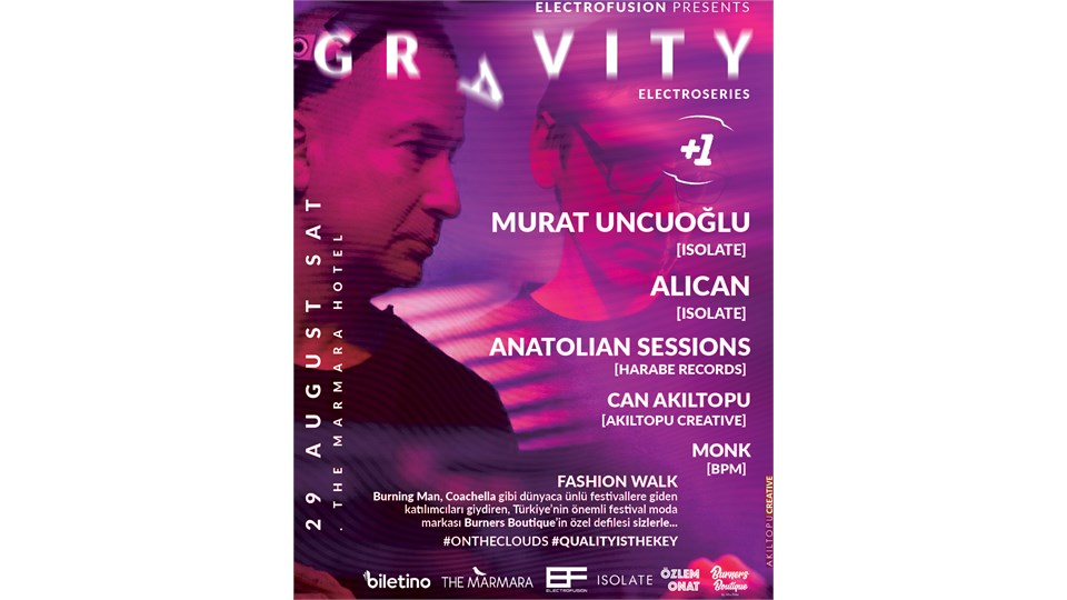 ELECTRO FUSION PRESENTS GRAVITY ELECTRO SERIES & FASHION WALK