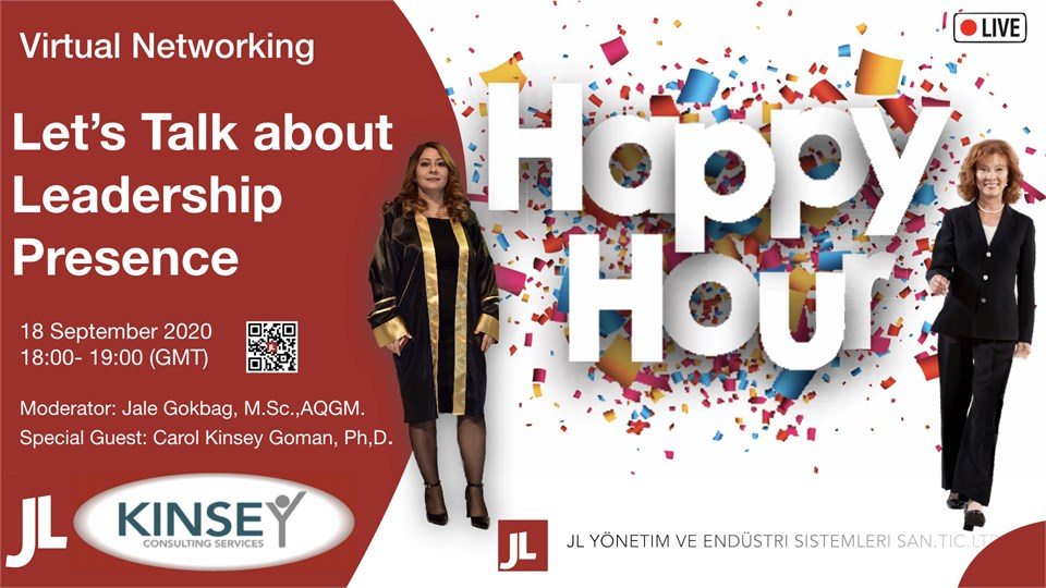 Virtual Happy Hour - Lets Talk about Leadership Presence