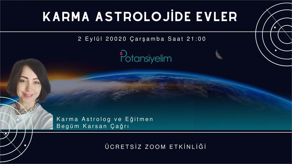 Karma Astrolojide Evler Semineri