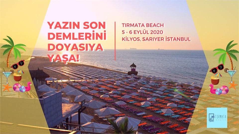 Tırmata Beach Giriş Biletleri ( Hafta sonu)