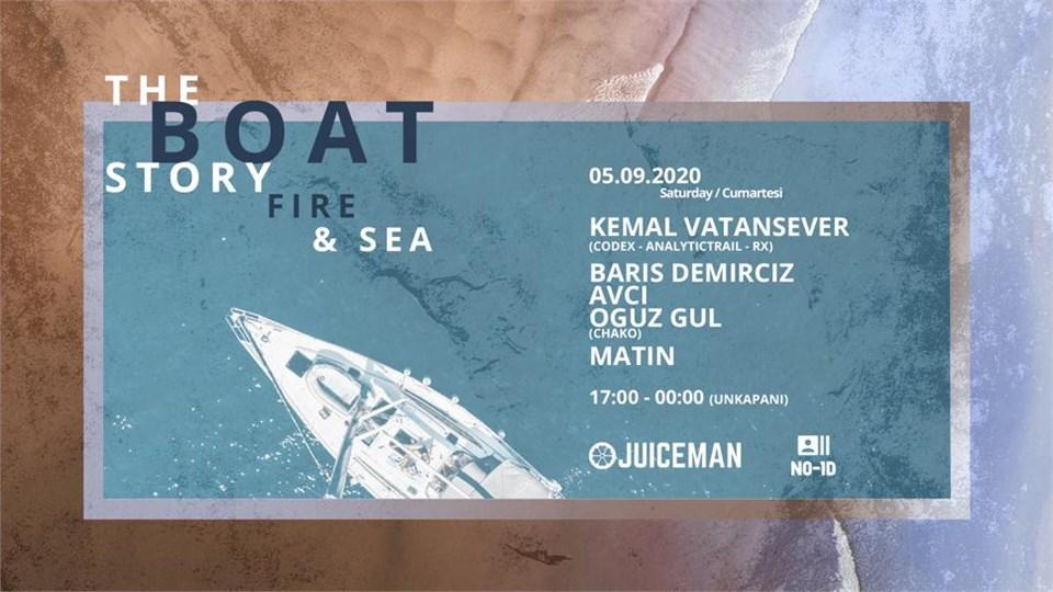 Fire & Sea: The Boat Story VI