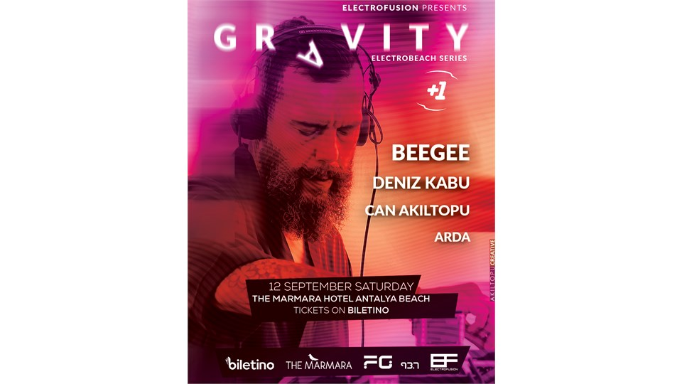 ELECTRO FUSION presents GRAVITY ELECTRO BEACH SERIES 2