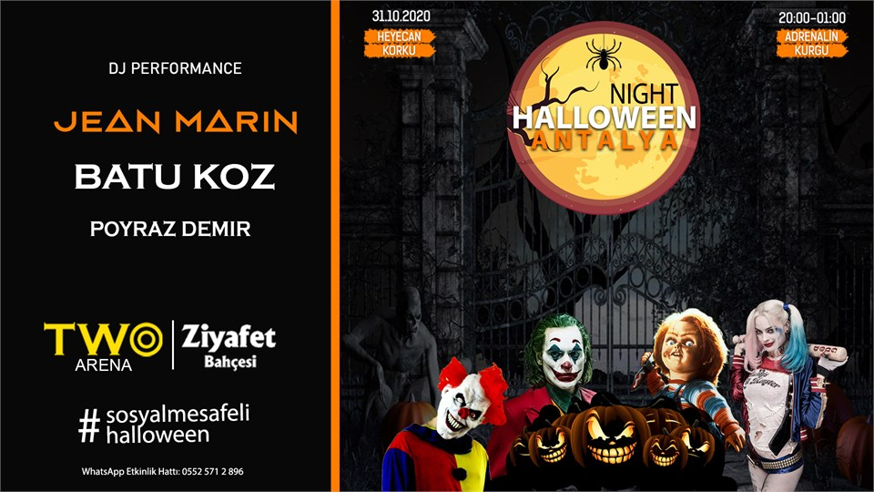 Halloween Night Antalya