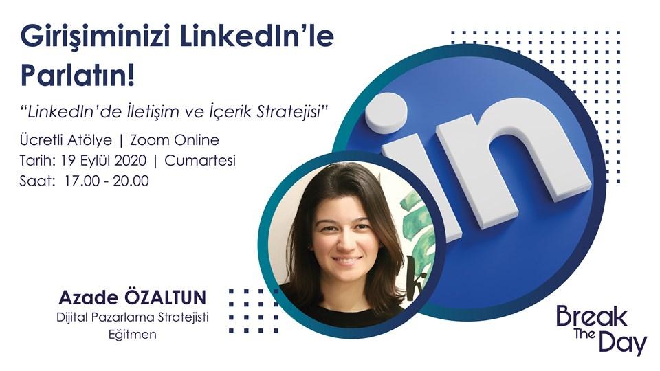 Girişiminizi Linkedln'le Parlatın !
