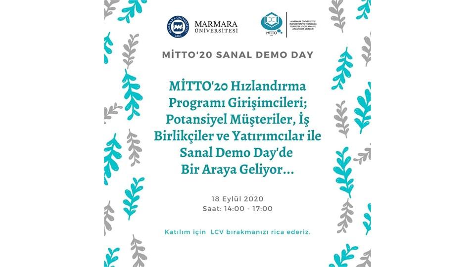 MİTTO'20 | Sanal Hızlandırma Programı Demo Day