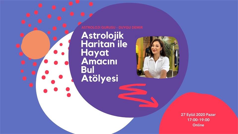 Astrolojik Haritan ile Hayat Amacını Bul | ONLINE Astroloji Atölyesi