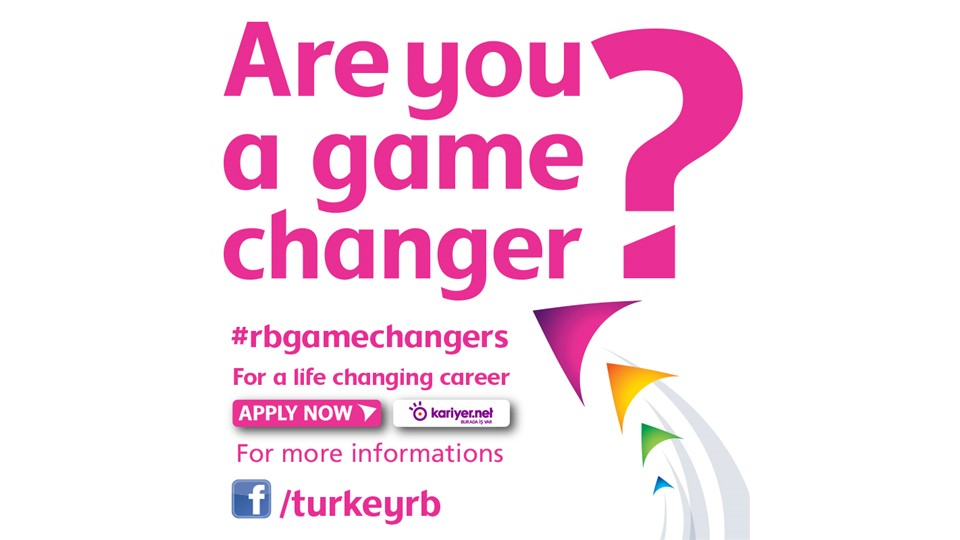 "Reckitt Benckiser ""Are You A Game Changer?"""