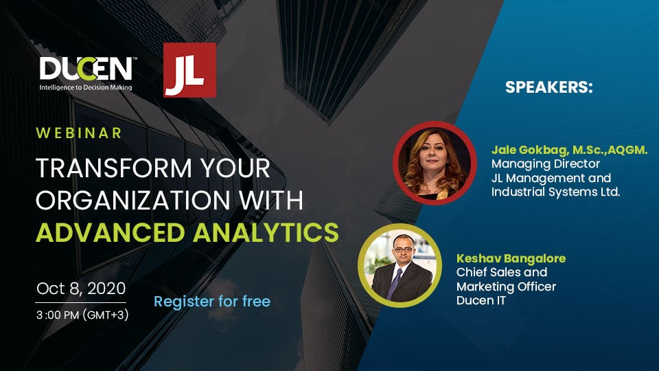 Transform your organization with advanced analytics