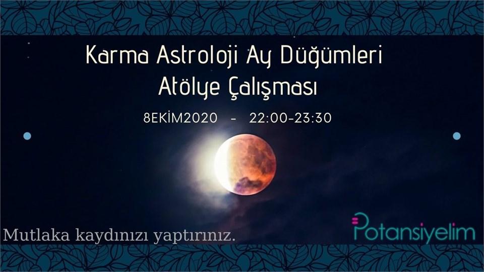 Karma Astroloji Ay Düğümleri Atölye Çalışması