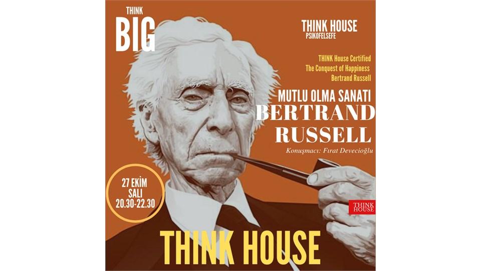 Bertrand Russell Atölyesi: MUTLU OLMA SANATI (ONLINE/Sınırlı Sayıda Fiziki Katılım)