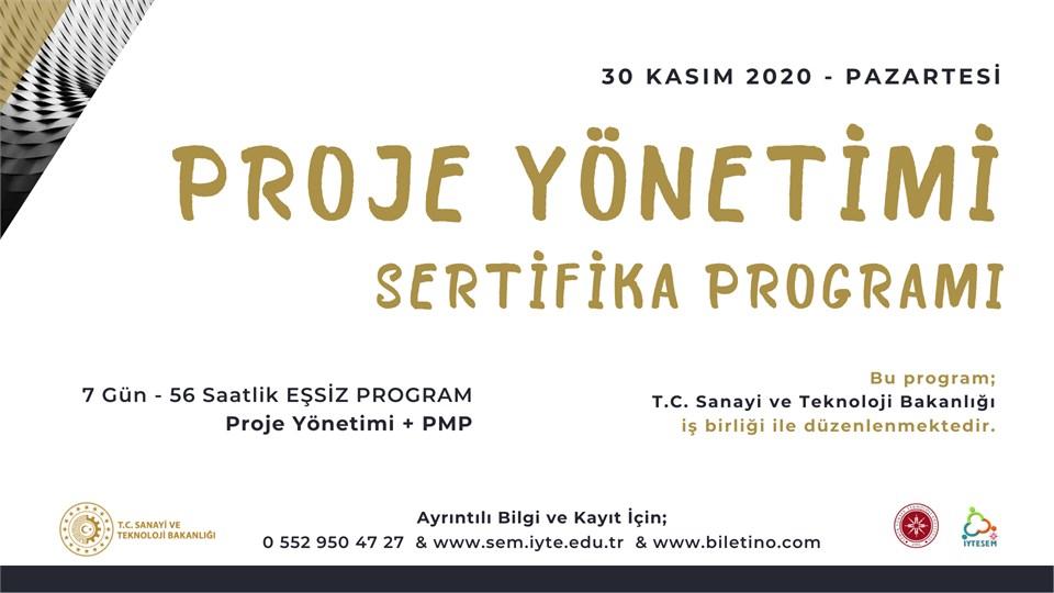 PROJE YÖNETİMİ Sertifika Programı ve PMP® Hazırlık