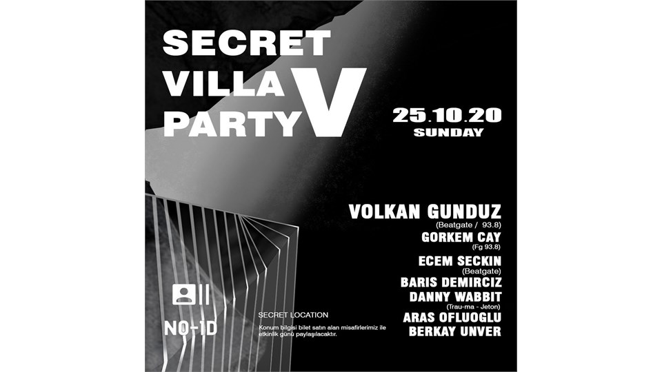 Secret Villa Party V