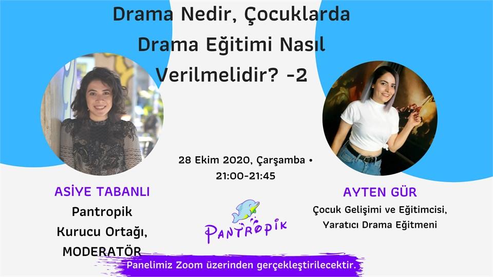 Drama Eğitmeni Ayten Gür ile Drama Eğitimi -2