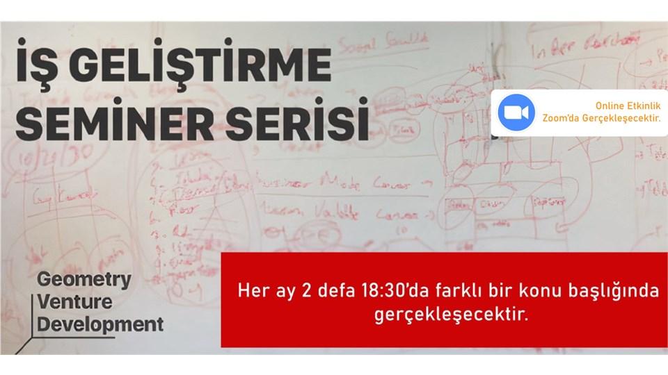 Girişim Geliştirme Seminer Serisi#43 | Yatırım | Geometry Venture Development