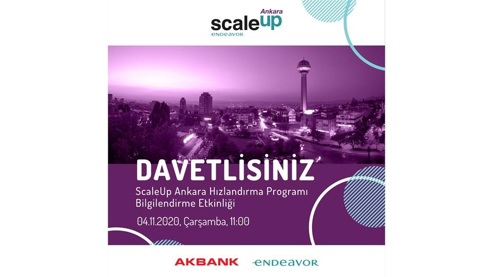 ScaleUp Ankara Hızlandırma Programı Bilgilendirme Etkinliği