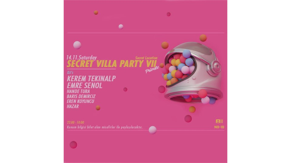 Secret Villa Party VII