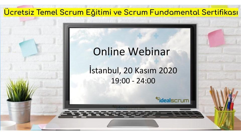 Ücretsiz Temel Scrum Eğitimi ve Scrum Fundamentals Sertifikasyonu