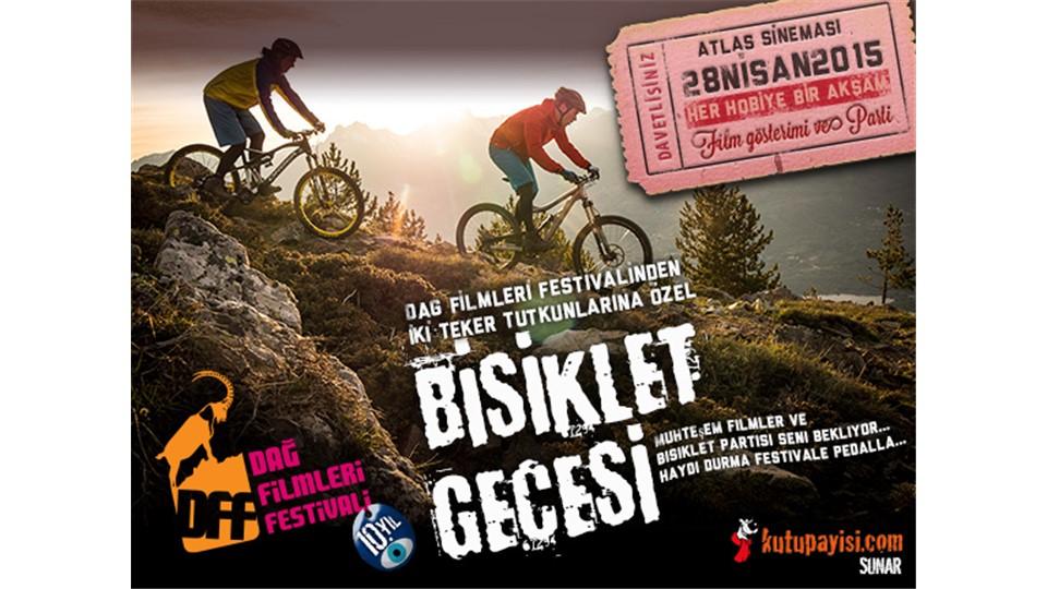 Bisiklet Gecesi Kombine Bilet - 28 Nisan 2015 Salı - 19:30