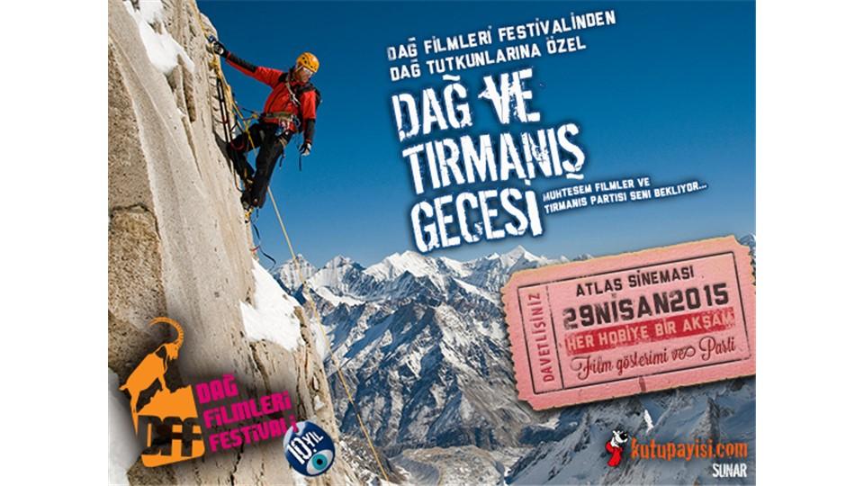 Dağ ve Tırmanış Gecesi Kombine Bilet  - 29 Nisan 2015 Çarşamba - 19:30