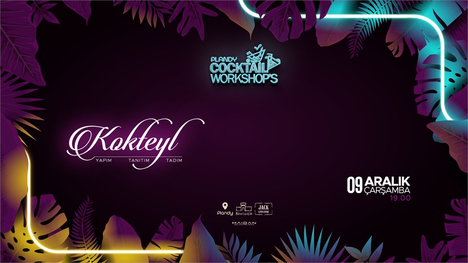 Plandy Cocktail Workshops | Newcastle Maidan (Ertelendi)