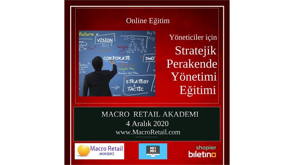Stratejik Perakende Yönetimi Eğitimi (Online Eğitim)