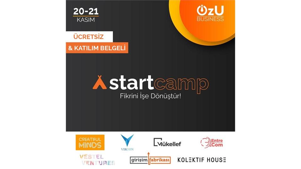 Fikrini İşe Dönüştür: Startcamp 2020