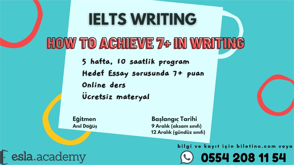IELTS Writing Eğitimi