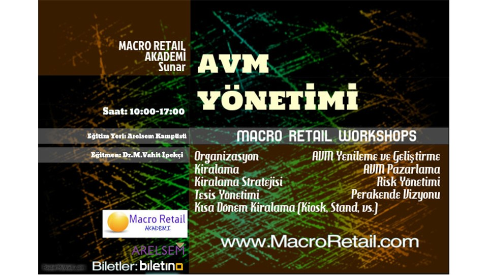 AVM Yönetimi WorkShop