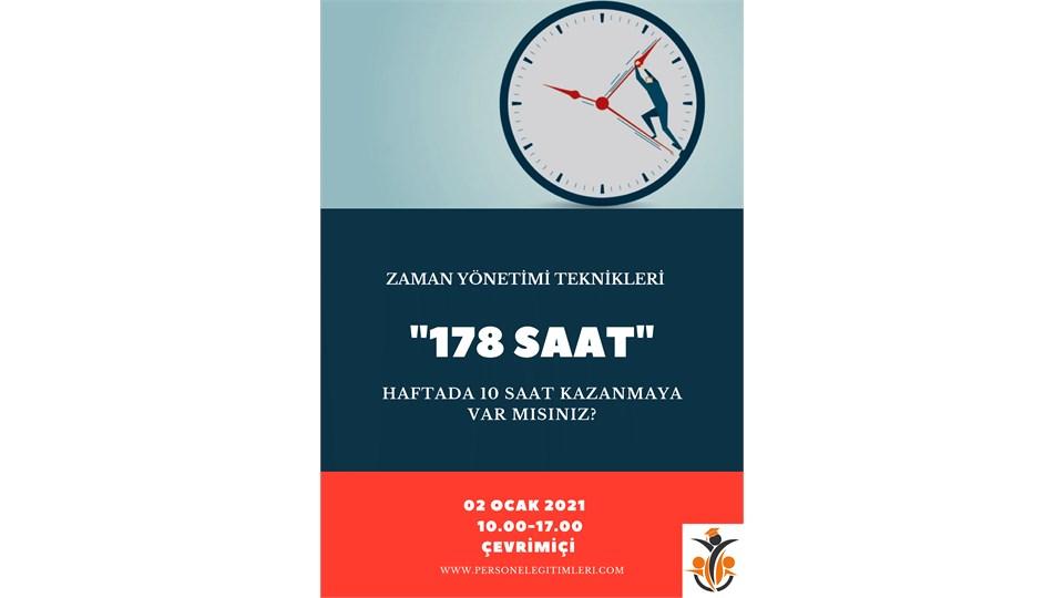Etkili Zaman Yönetimi: 178 Saat