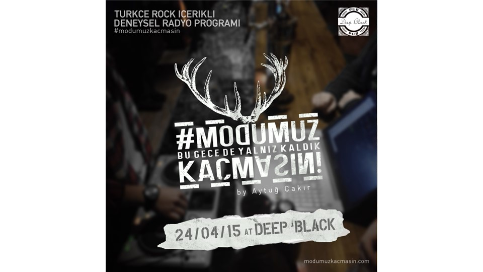 #modumuzkaçmasın @ Deep Black Pub / Beykent (Türkçe Rock)