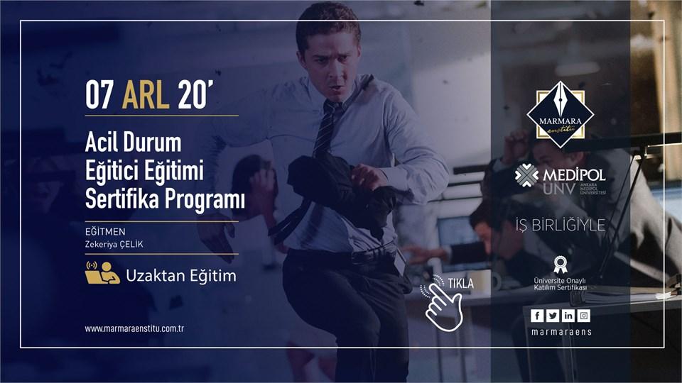 Acil Durum Ekipleri Eğitici Eğitimi Sertifika Programı