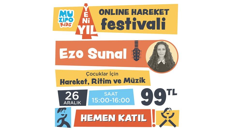 Muzipo Kids Ezo Sunal ile Hareket, Ritim ve Müzik Atölyesi | ONLINE