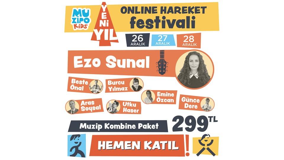Muzipo Kids Yeni Yıl Online Hareket Festivali