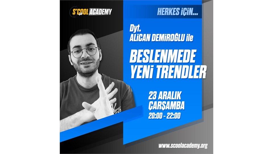 HERKES İÇİN BESLENMEDE YENİ TRENDLER