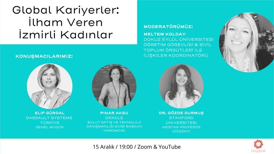 Global Kariyerler: İlham Veren İzmirli Kadınlar